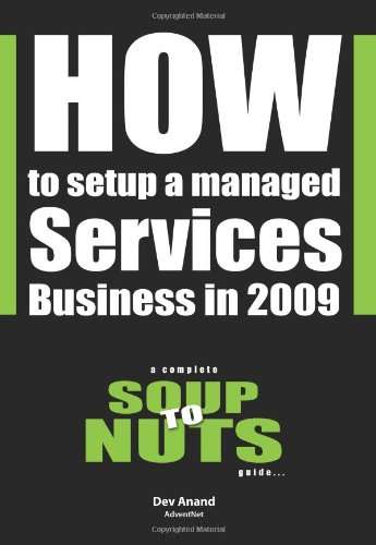 How To Setup A Managed Services Business In 2009