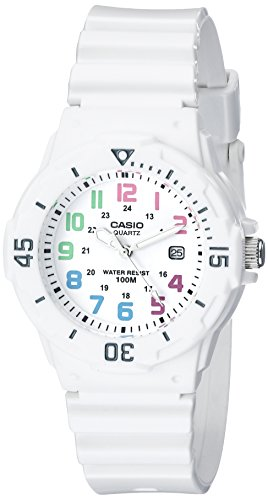 100m Watch Dive (Casio Women's LRW200H-7BVCF Dive Series Sport Watch)