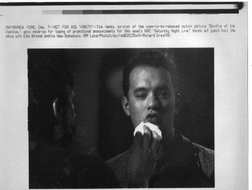 Tom Hanks Saturday Night Live 1990 6x8 original WIRE PHOTO J6540 (Saturday Night Live The Best Of Tom Hanks)