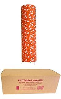 Diy floor lamp kit tall cylinder 200mm x 740mm high amazon diy table lamp kit tall cylinder 150mm x 380mm high aloadofball Choice Image