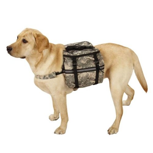 Casual Canine ZW6214 08 43 Digital Camo Day - Camo Dog Backpack