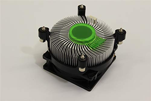 Genuine Dell Heatsink and CPU Processing Cooling 4-Pin 4-Wire Fan Assembly for Inspiron 545 Desktop and XPS 8000, 8100 Compatible Part Numbers: F2KPP, 0F2KPP, T215K, TJ5T2