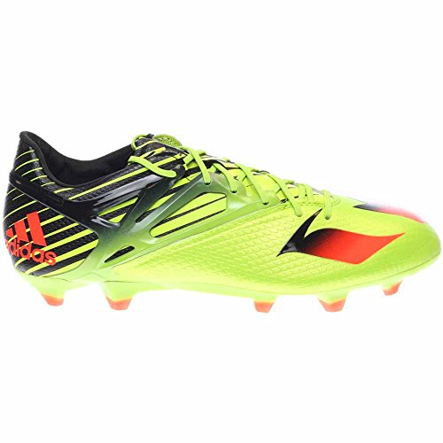 Mens adidas Messi 15 1 FG/AG Soccer Cleats Black Solar Red On Sales Size 41