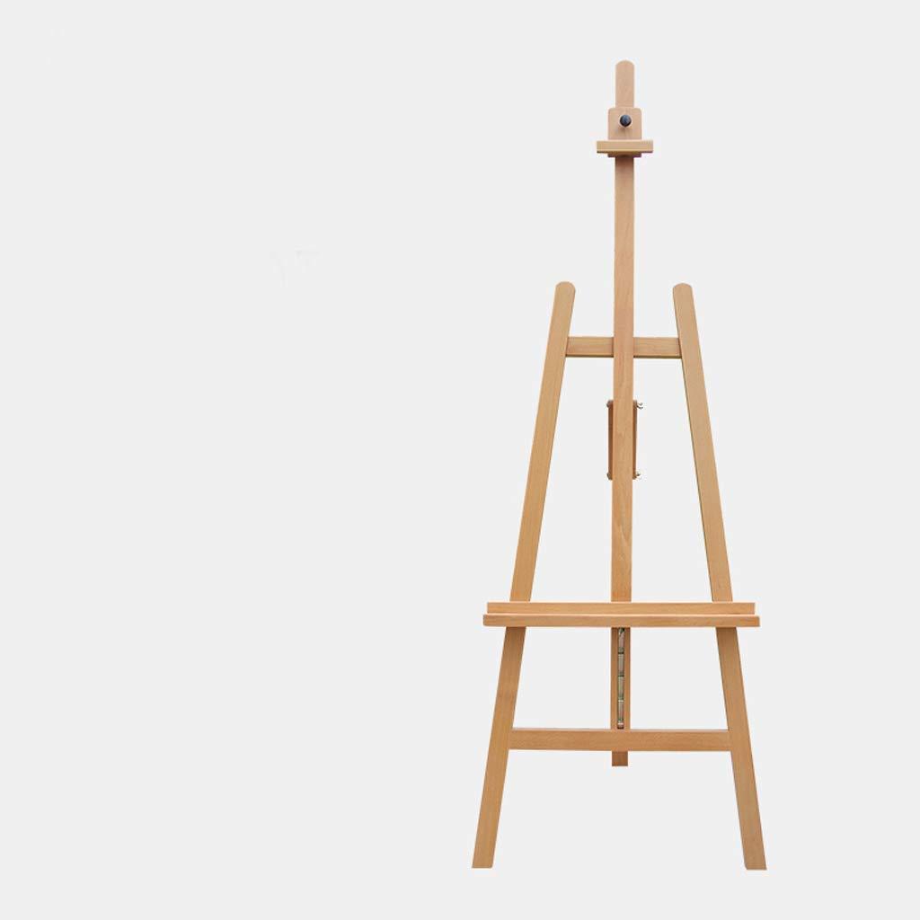 Djyyh 成人学生が室内で使用するのに適した、複数の角度に調整可能な木製リフティングイーゼル (色 : ウッドカラー)  ウッドカラー B07SD3HWMM