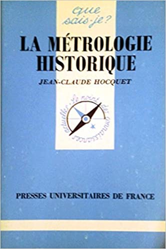 En ligne téléchargement La métrologie historique pdf