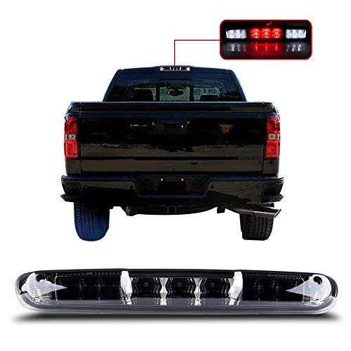 For 2007-2013 Chevy Silverado/GMC Sierra High Mount Brake Light Smoke Lens LED Light LED 3rd Brake Light Cargo Light