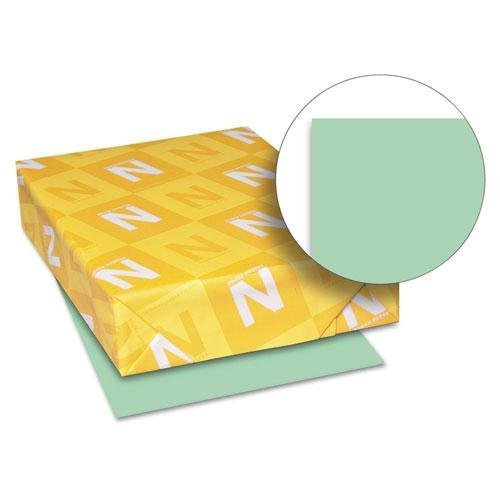 Neenah Paper 49161 Exact Index Card Stock, 90lb, 8 1/2 x 11, Green, 250 Sheets