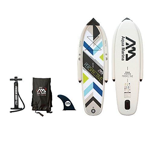 Aqua Marina Perspective New Beginner Inflatable Stand-up Paddle Board by Aqua Marina