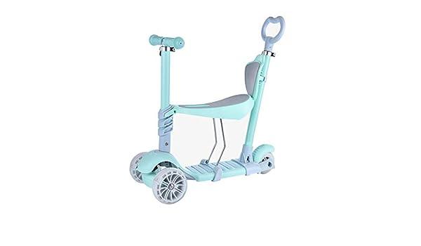 Hejok Scooter para Niños Pequeños 3 En 1, Scooter para Niños ...