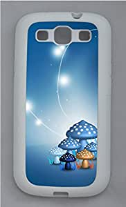 Samsung Galaxy S3 I9300 Cases & Covers - Lovely Mushroom Design Custom TPU Soft Case Cover Protector for Samsung Galaxy S3 I9300 - White