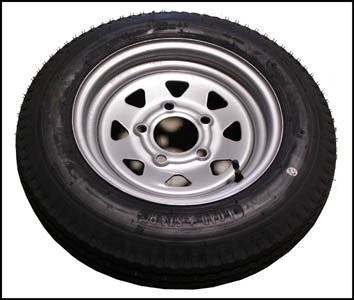 4.8 x 12 Triton 06509 Class C Snowmobile Trailer Tire by Triton