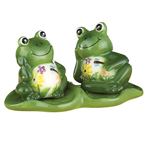 Happy Frog Salt And Pepper Set (Frog Salt And Pepper Shakers)