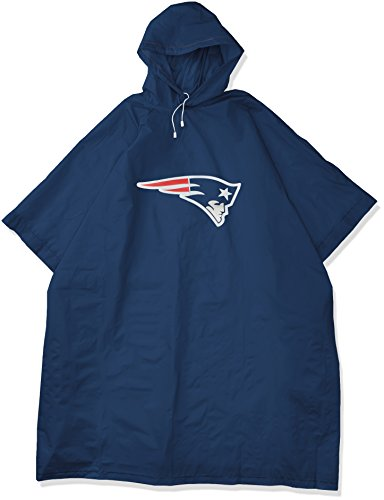 The Northwest Company Officially Licensed NFL New England Patriots Deluxe Poncho
