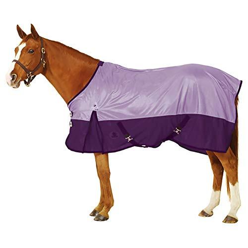 Big D Nylon Sheet - Centaur Super Fly Sheet - Size:84 Color:Lavender/Plum