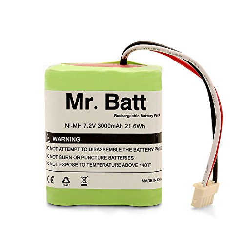 Mr.Batt Replacement Battery for iRobot Braava 380t Battery for Braava 380, Mint 5200, 7.2 Volt 3000mAh