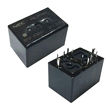Amazon com: 2PCS EP2F-B3G1ST Relay 10PIN 12VDC/30A FRM