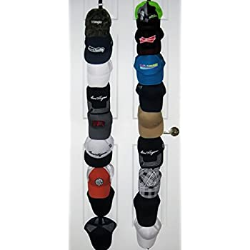 Superior ActiveFit Apparel Sports Ballcap Hat Rack Storage. Stylish 2 X 9 Hat Racks  For Baseball