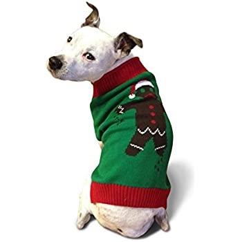 Amazon.com : Ugly Christmas Sweater Penguin Dog Sweater, Large ...