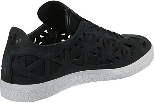 adidas Gazelle Cutout W, Zapatillas de Deporte para Mujer, Negro Negro (Negbas/Negbas/Casbla)