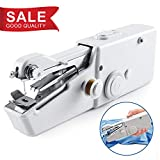 Handheld Sewing Machine, Mini Cordless Handheld Electric Sewing Machine, Quick Handy Stitch for Fabric, Clothing, Kids Cloth Home Travel Use