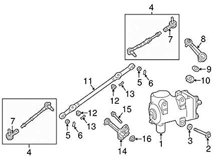 Nissan 48630 1pa0a Steering Tie Rod End Amazon Co Uk Car Motorbike
