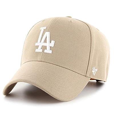 '47 Brand Los Angeles Dodgers MVP Snapback Cap - Khaki
