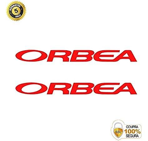Juego de Adhesivos en Vinilo para Bici ORBEA Pegatinas Cuadro Bici Sticker Decorativo Bicicleta Pegatinas para Bici
