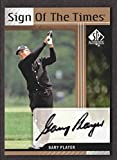 2012 Upper Deck SP Authentic Golf Sign of the Times #ST-GP Gary Player