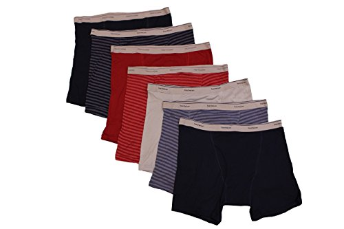 Fruit of the Loom Mens Tag-Free Boxer Brief Pack of 7