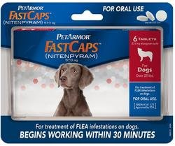 PetArmor(R) FastCaps? Oral Flea Tablets for Dogs Over 25 lbs.