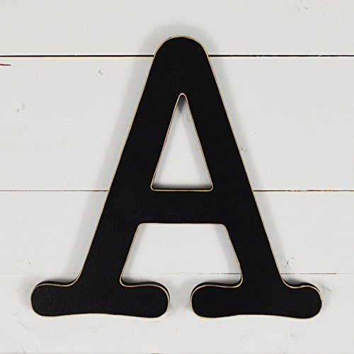 11.5'' Typewriter Wall Decor Letter ''A''- black