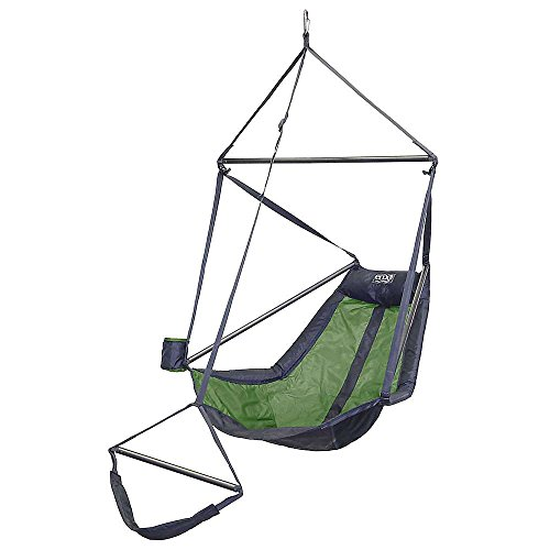 ENO Eagles Nest Outfitters - Lounger Hanging Chair, Lime/Charcoal by Eagles Nest Outfitters