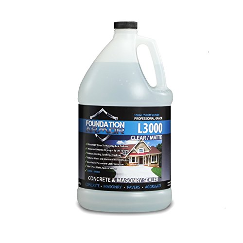 1Gal L3000 Concentrated WaterBased Lithium Silicate Densifier Hardener and Sealer for Concrete amp Masonry