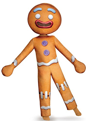 Of 10 Halloween Group Costumes (Gingy Deluxe Costume, Large)
