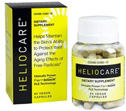 Heliocare Daily Use Antioxidant Formula, 60 Capsules (Pack of 2)