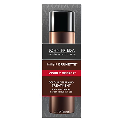 John Frieda Brilliant Brunette Visibly Deeper Colour Deepening Treatment, 4 Ounce