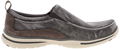 Mens Anthracite Skechers Trainers Drigo Canvas Elected dnnXfz4