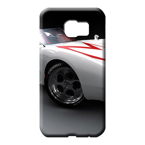 (samsung galaxy s6 Ultra Scratch-proof Durable phone Cases cell phone skins speed racer mach 5 car)