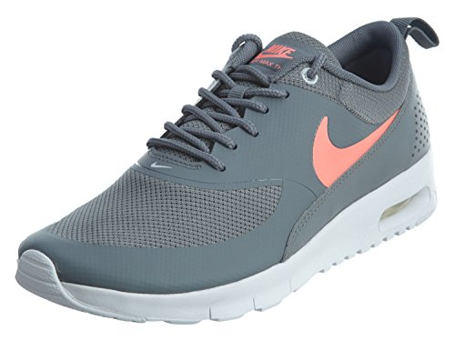 NIKE Air Max Thea (GS) Girls Running-Shoes 814444-007_6Y – Cool Grey/Lava Glow-Pure Platinum-White For Sale