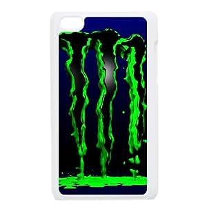 ipod 4 White Monster Energy phone cases&Holiday Gift