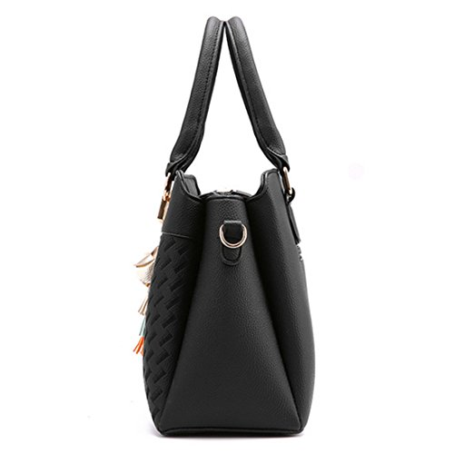 Followus Blue nero Donna Tote Borsa Dark Black G72390c gq1Tgr0w
