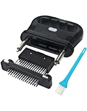 SeaBytle Meat Tenderizer Tool with 48 Blade Meat Tenderizer Needles for Tenderize Steak, Meat, Chicken, Beef; Detachable, Including Paper and E-Book (PDF) User Manual