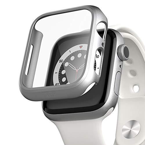 Funda c/protec de pantalla Apple Watch 6/5/4/SE 44mm silver