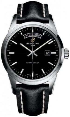 Breitling Transocean Day Date Men's Watch (Breitling Date Wrist Watch)