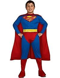 M/C Classic Superman Costume, Medium, Medium