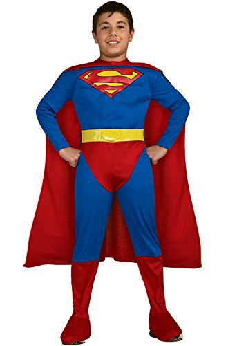 Superman Costume For 12 Year Olds (Rubie's Costume Co M/C Classic Superman Costume, Medium, Medium)