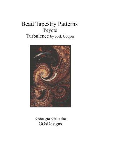 Bead Tapestry Patterns Peyote Turbulence by Jock Cooper