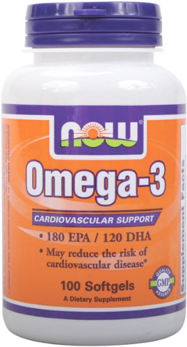 NOW Omega 3 2000mg Softgels Pack product image