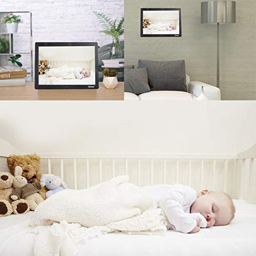 Digital Photo Frame 15 Inch,Kenuo Advertising Media Player 16:9 with 1280 x 800 HD LED Screen & Remote Control and Auto On/Off Timer - Black by Kenuo (Image #3)