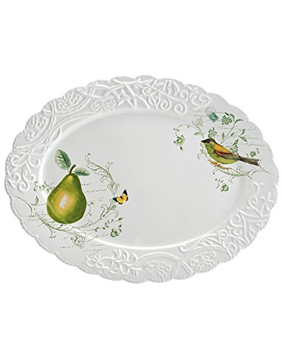 Mikasa Pear (Mikasa Antique Countryside Pear Oval Platter)